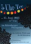 5-Uhr-Tee am 15. Juni in Kürnberg