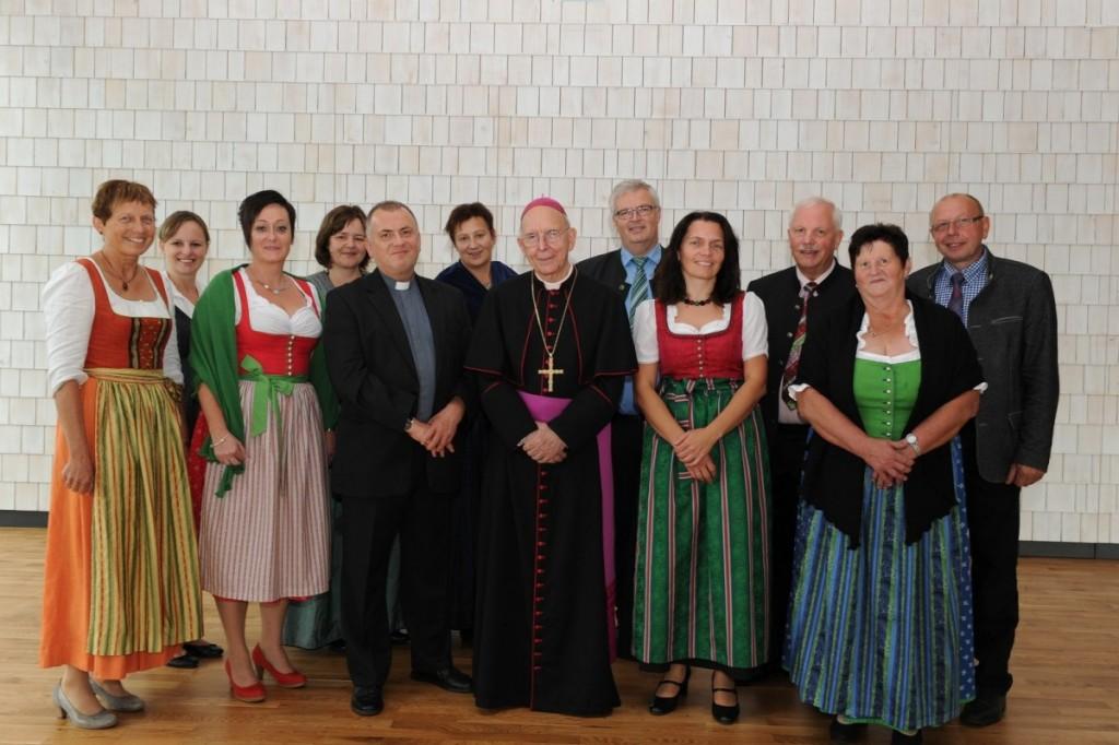 Bischof Küng mit Pfarrgemeinderat