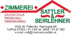 Logo Zimmerei Sattler