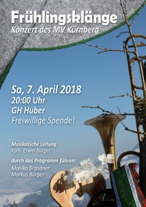 Konzert des Musikvereins Kürnberg