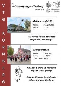 Rund um den 1. Mai in Kürnberg