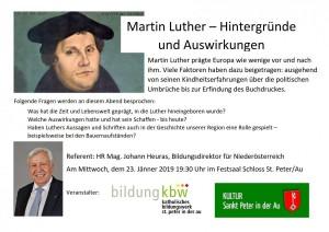 Vortrag Martin Luther