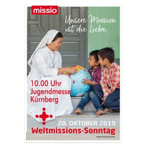 Plakat Weltmisssionssonntag 2019