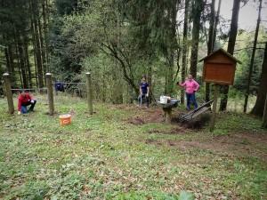 Kneippweg Säuberung Dorfentwicklung