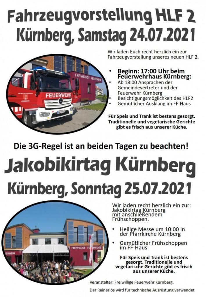 FF-Kuernberg-HLF-Vorstellung und Jakobikirtag-2021