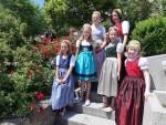 Mädchen der Goldhaubengruppe Kürnberg